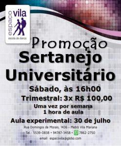 Sertanejo Promoção