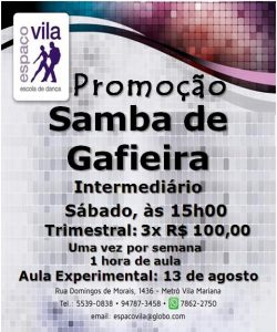 Samba de Gafieira 13.8 a.e