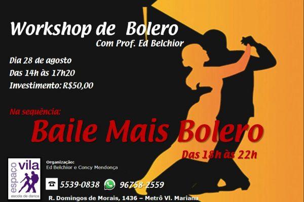 Workshop de Bolero
