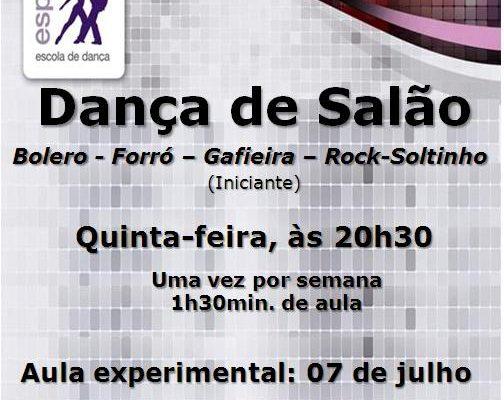 Dança de Salão > Bolero – Forró – Gafieira – Rock-soltinho