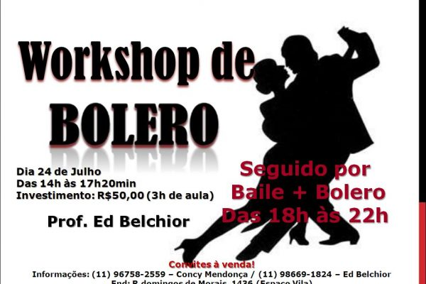 Workshop de Bolero