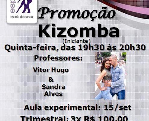 Turma nova de Kizomba, quinta-feira, às 19h30