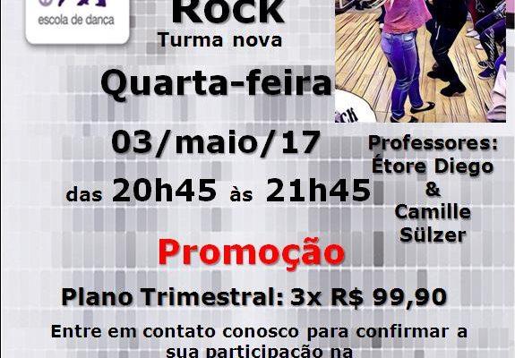 Samba Rock, 4ª feira, 03/5/17, das 20h45 às 21h45, Prof.: Étore Diego & Camille Sülzer